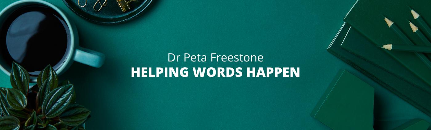 Dr Peta Freestone